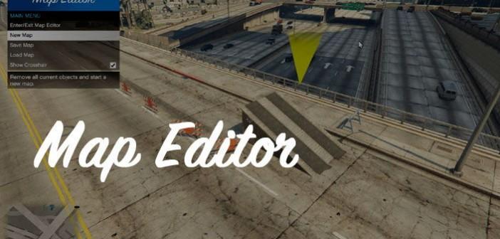 Мод Map Editor для ГТА 5