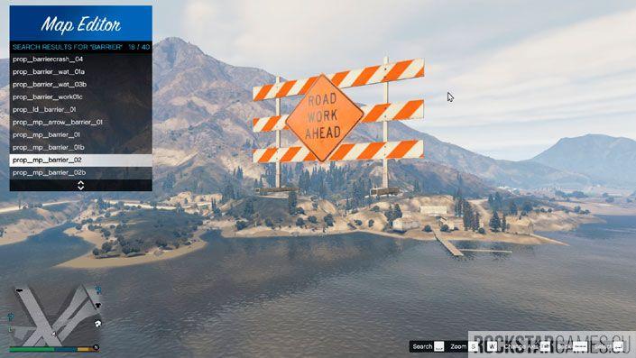Map Editor для GTA 5