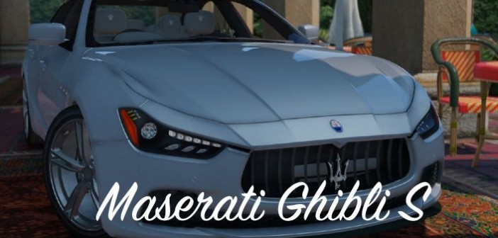 Maserati Ghibli S мод для ГТА 5