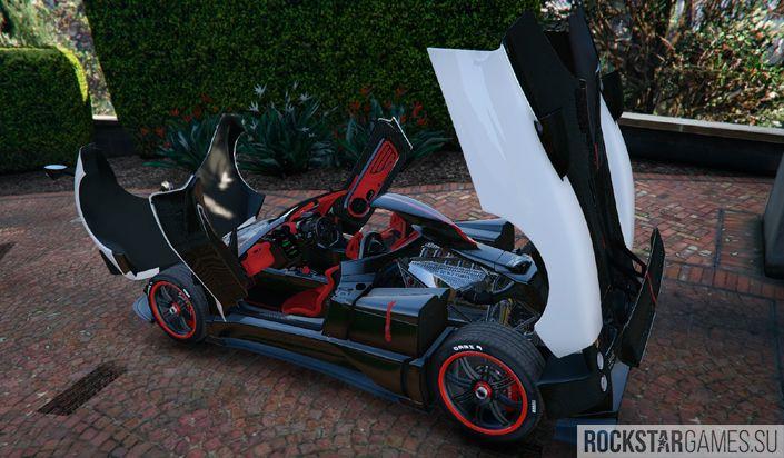 Мод Pagani Zonda Cinque Roadster для GTA 5