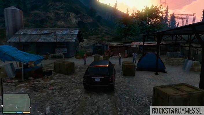 Беглецы в GTA 5