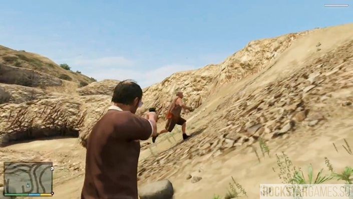 Поиск беглецов в GTA 5