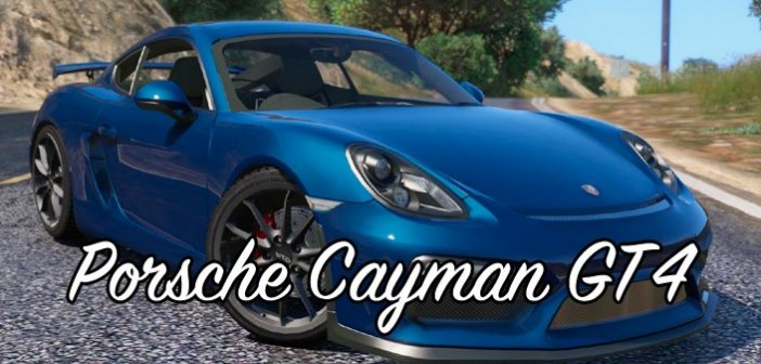 Porsche Cayman GT4 для GTA 5