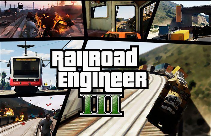 Мод Railroad Engineer для ГТА 5