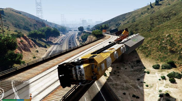 Railroad Engineer для GTA 5