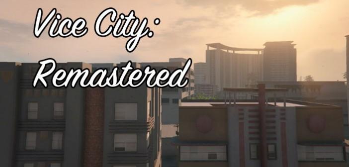 Vice City: Remastered с графикой GTA 5