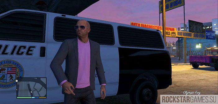 Дорожные шипы - миссия GTA 5