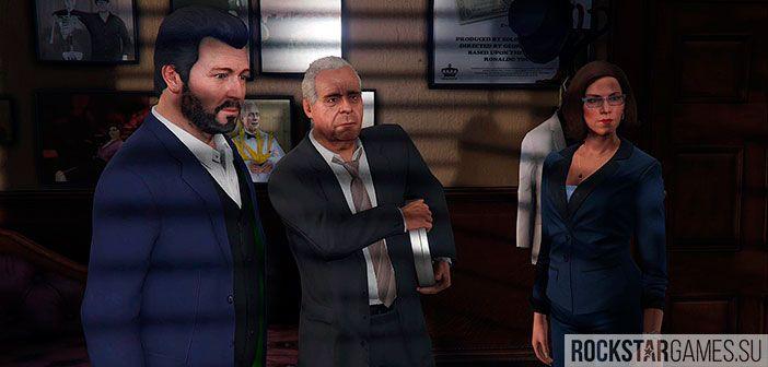 Неприятности с законом - миссия GTA 5
