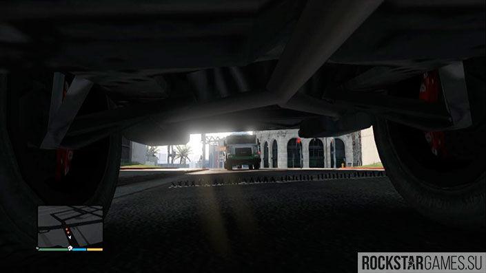 Остановка инкасаторских фургонов