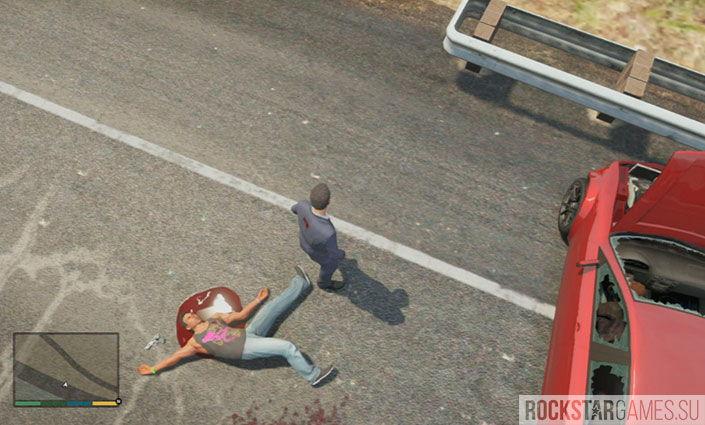 Баллада о Рокко - миссия GTA 5