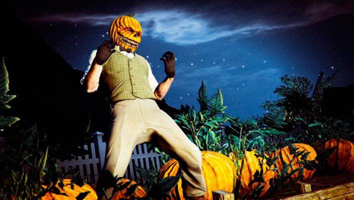 Хэллоуинское настроение в GTA