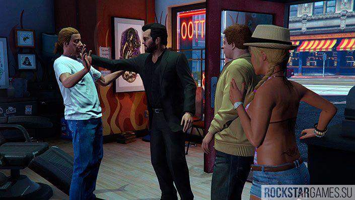 Воссоединение семьи - миссия GTA 5