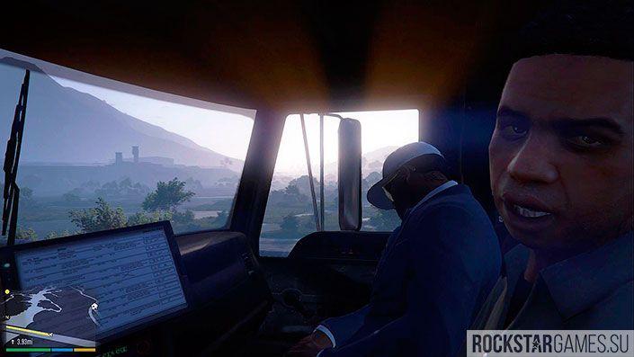 Угонщик - миссия GTA 5