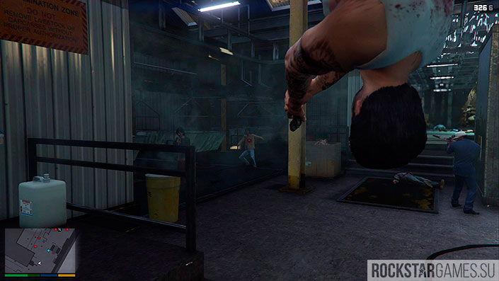 Свежее мясо - миссия GTA 5