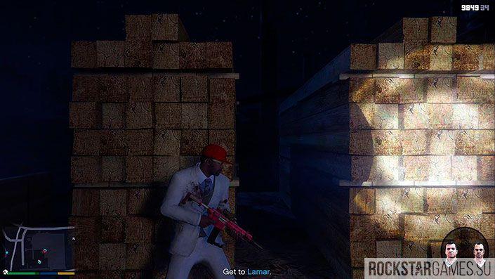 Ламар в беде - миссия GTA 5