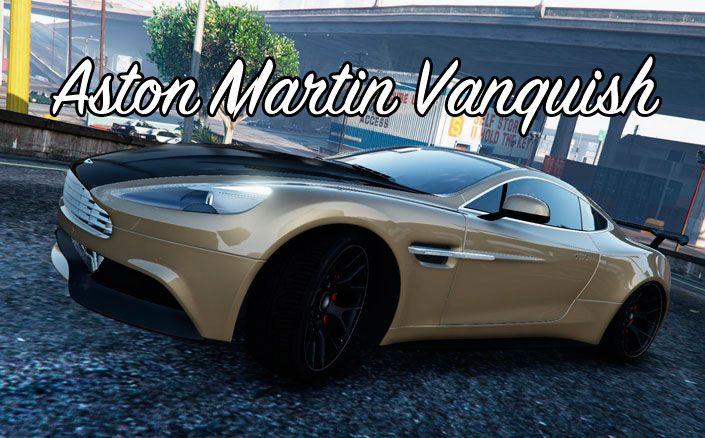 Авто Aston Martin Vanquish в GTA 5