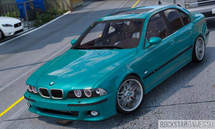 Мод BMW M5 E39 для GTA 5