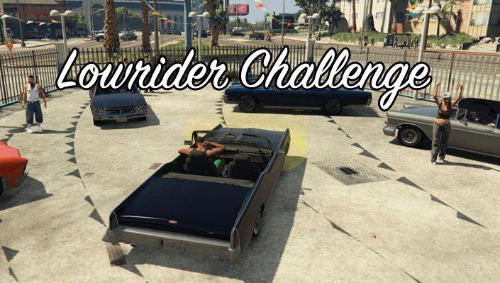 Мод Lowrider Challenge для ГТА 5