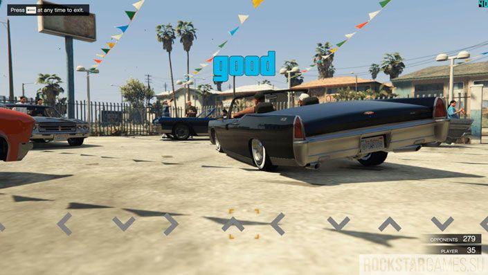 Lowrider Challenge в GTA 5