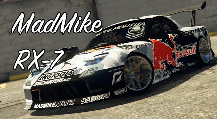 MadMike RX-7 мод в ГТА 5