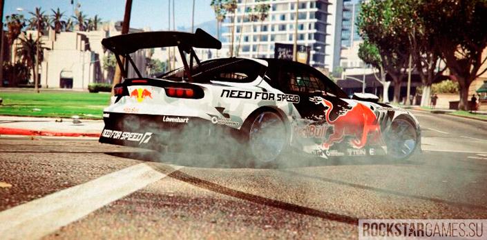 Мод MadMike RX-7 для GTA 5