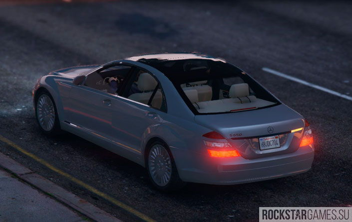 Mercedes-Benz S-Class W221 для ГТА 5