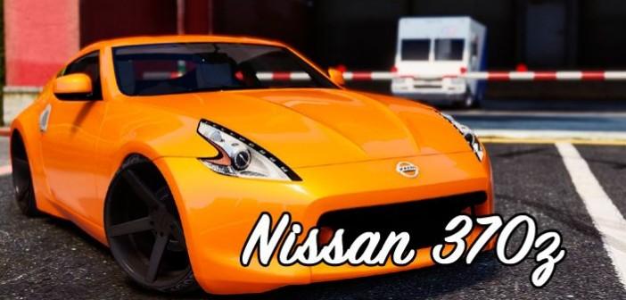 Nissan 370z для ГТА 5