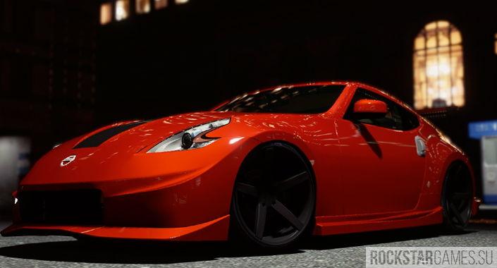 Мод Nissan 370z в GTA 5
