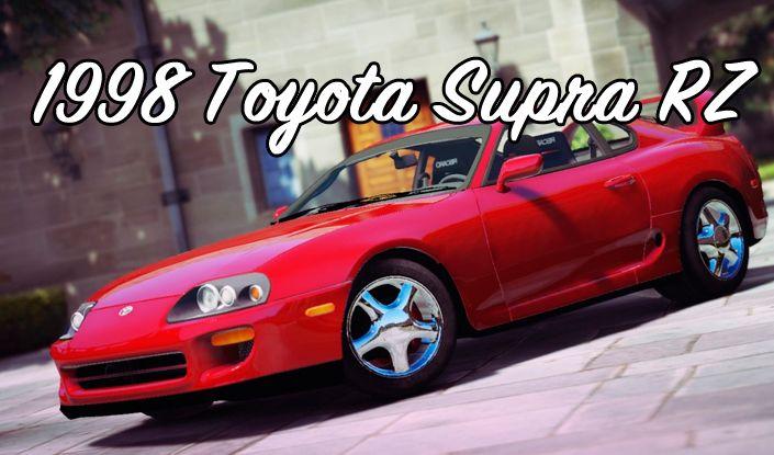 Toyota Supra RZ мод для ГТА 5