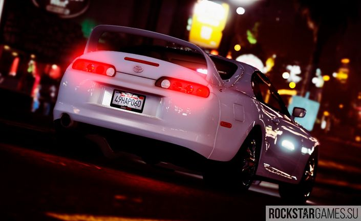 Toyota Supra RZ мод для GTA 5