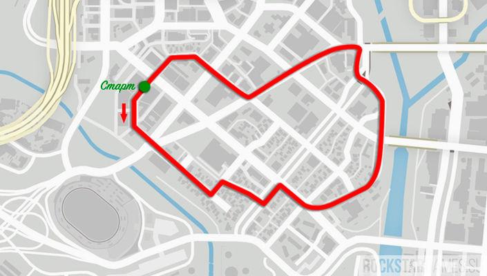 ГТА 5 уличные гонки
