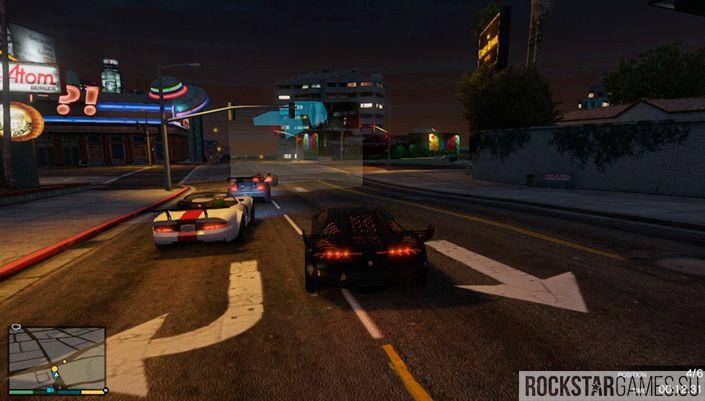 GTA 5 уличные гонки