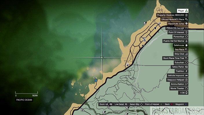 Первая бочка на карте