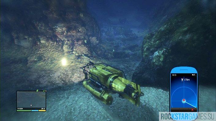 17 контейнер - глубина 153 фута