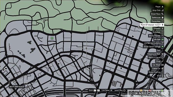 Месторасположение 21 обрывка на карте