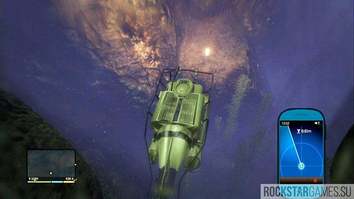 29 контейнер - глубина 354 фута