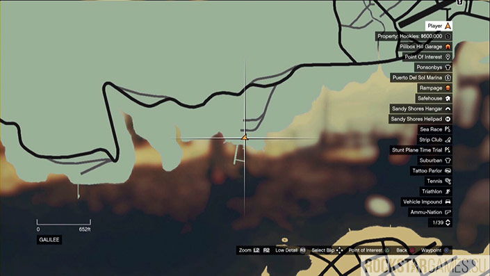 Сорок первая часть на карте
