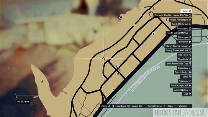47 обрывок на карте