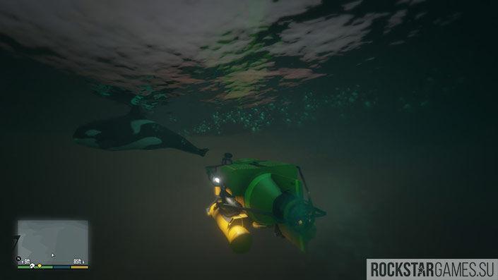 Управляйте субмариной с умом, она тоже способна разрушиться
