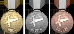 Медали за аэробатику в GTA 5