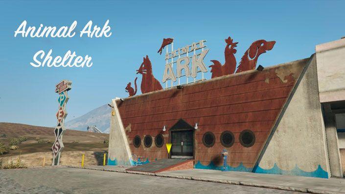 Мод Animal Ark Shelter для GTA 5