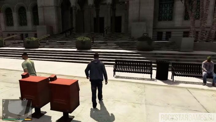Прохождение заданий Барри в GTA 5 — шаг 22