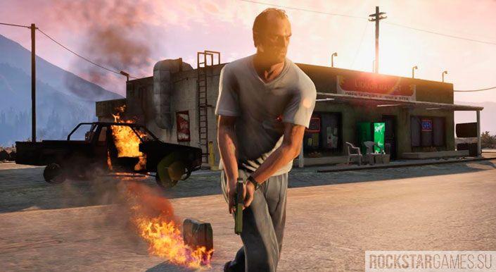 Чудаки и незнакомцы в GTA 5 — шаг 2