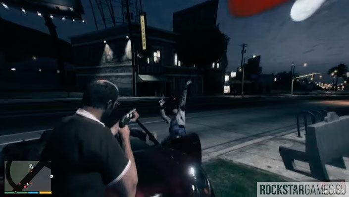 Чудаки и незнакомцы в GTA 5