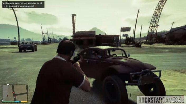 Чудаки и незнакомцы в GTA 5 — шаг 5