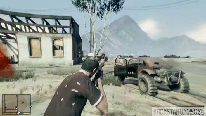 Чудаки и незнакомцы в GTA 5 — шаг 6