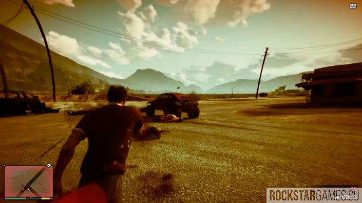 Чудаки и незнакомцы в GTA 5 — шаг 7