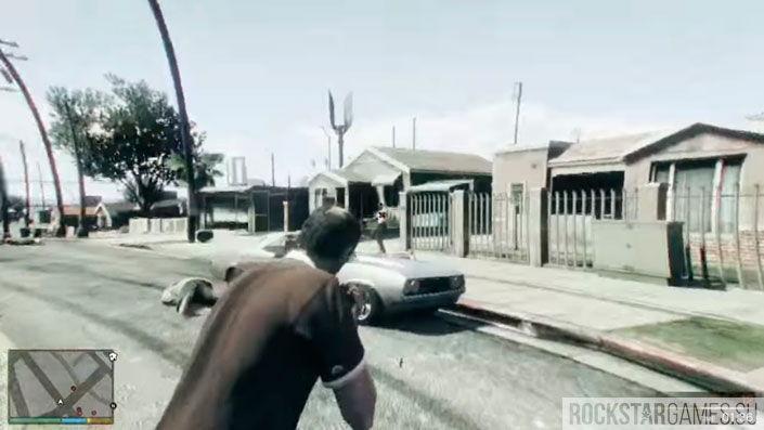 Чудаки и незнакомцы в GTA 5 — шаг 9