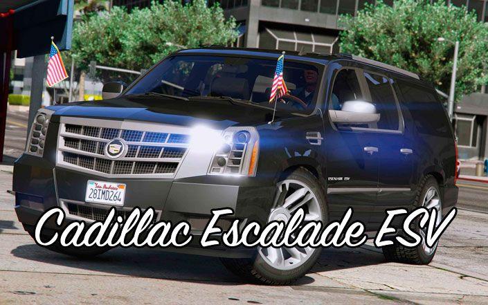 Cadillac Escalade ESV в GTA 5