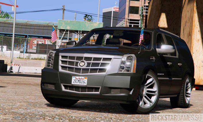 Мод Cadillac Escalade ESV для ГТА 5